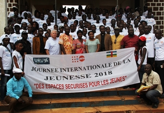 Journée Internationale de la Jeunesse 2018 à Mbaiki
