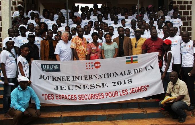 Journée Internationale de la Jeunesse 2018 à Mbaiki
